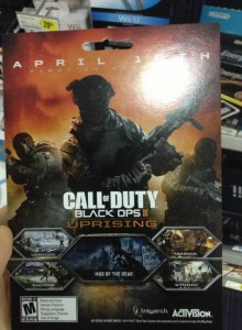 Black Ops 2 Uprising Leaked Picture
