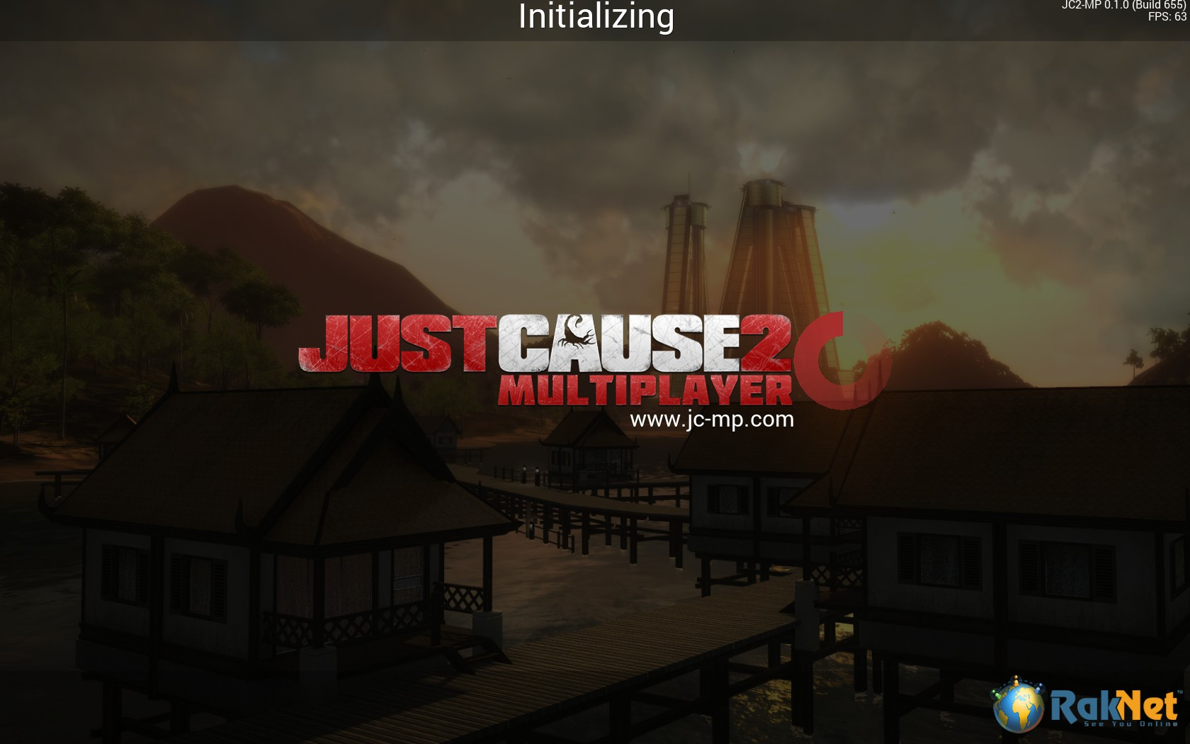 Just Cause 2 Multiplayer Loading