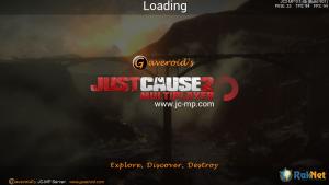Gaveroids JC-MP loading screen